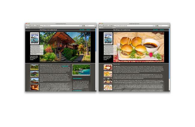 Kungkungan Bay Resort Website
