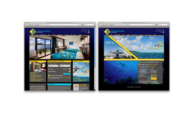 Manta Ray Bay Resort Website
