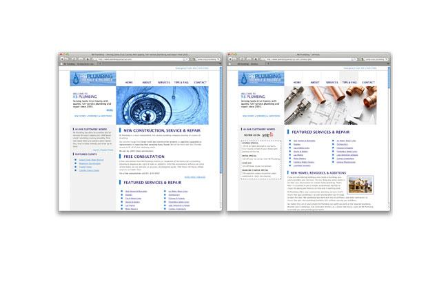 RB Plumbing Website