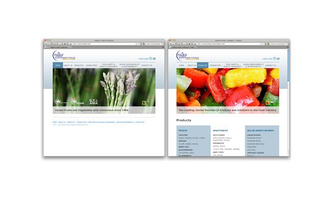 Superior Foods Website